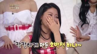 불후의명곡 Immortal Songs 2 - AOA 초아·설현·민아 뜬금 개인기.20170211