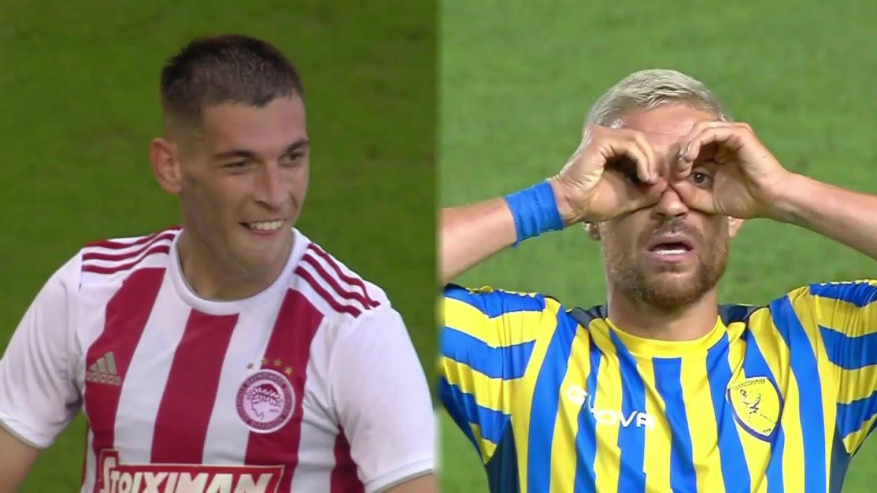 BEST Goals In Greek Football After Quarantine