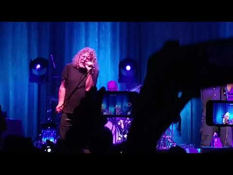 Robert Plant-Whole Lotta Love/Santianna Medley- Toyota Music Factory-09/25/18- Irving TX