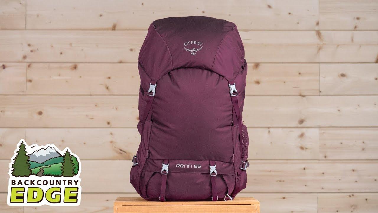 Osprey Renn 65 Womens Ventilated Backpacking Pack