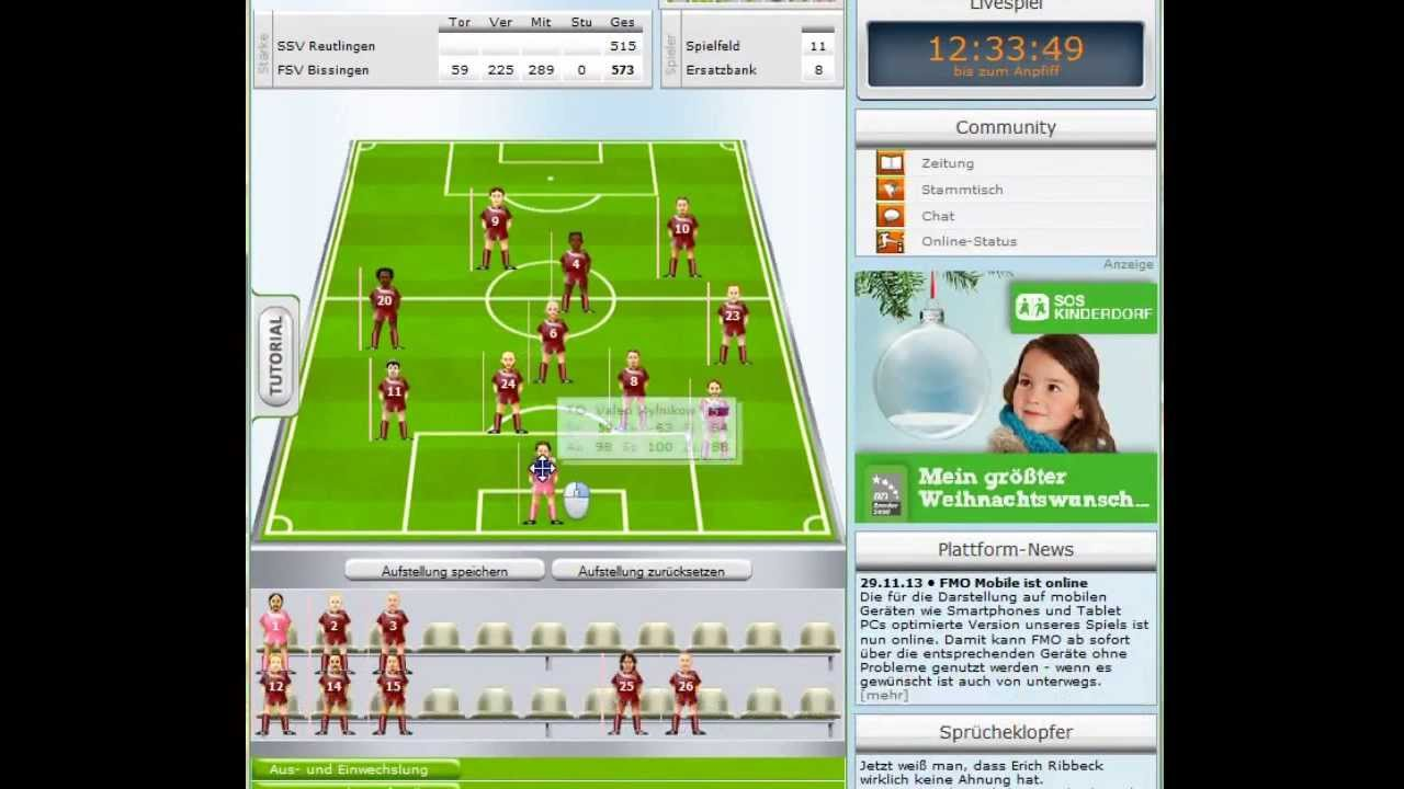 Offline Fussball Manager