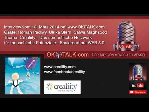Crealiity - Das semantische Netzwerk für menschliche Potenziale - Interview OKiTALK.com