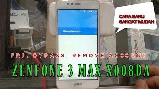 FRP Bypass Zenfone 3 Max ASUS X008DA
