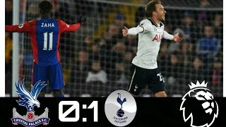 Crystal Palace vs Tottenham:0-1:Full Highlights HD(27/4/2017)