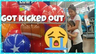 SHE GOT KICKED OUT OF WALMART