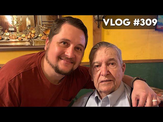 VLOG #309 / My Grandpa Turned 90! / April 9, 2021