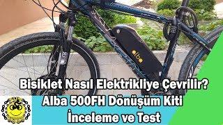 Kron Bisikleti Elektrikliye Çevirdik/Pedal Basmadan Uçuyor :)