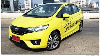 รีวิว All New HONDA JAZZ 2014 (GK) SV AT Thailand - Interior