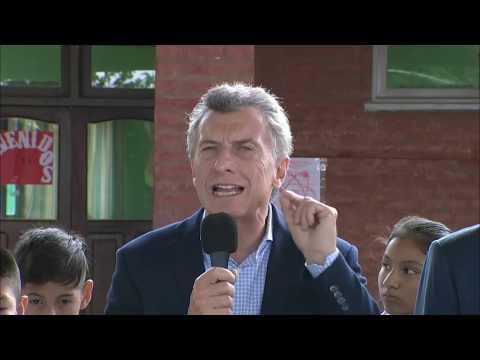 Mauricio Macri en Santa Clara: Estoy muy feliz de estar en esta provincia que amo tanto