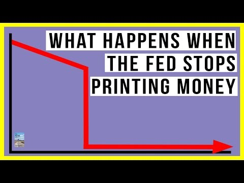 What Happens When the Fed STOPS Printing Money? Will the Stock Market CRASH?
