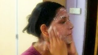 brighten your face in 5 minutes with facial scrubing [Weekly once routine] Thumbnail