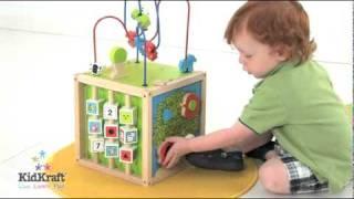 Www.tedstoyshop.co.uk Kidkraft Bead Maze Cube 63243
