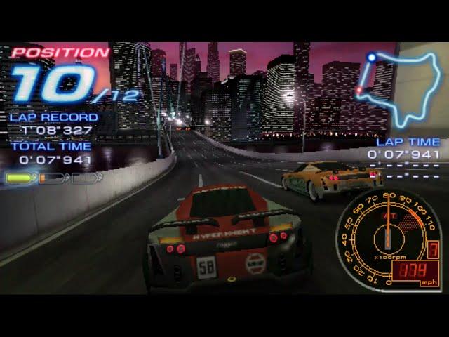 Ridge Racer (PSP) pro tour 18 longplay