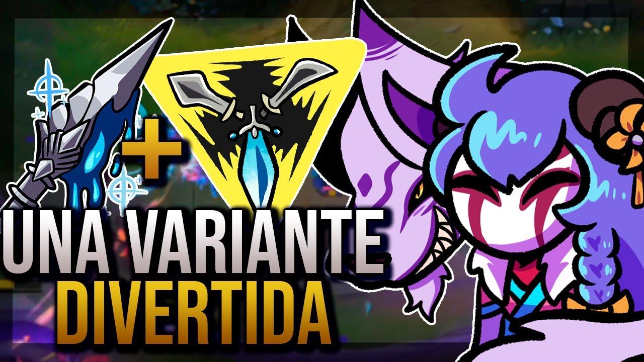 ¡BUILD ALTERNATIVA CON KINDRED HACE MUCHO DAÑO (A LA LARGA)!! - League of Legends