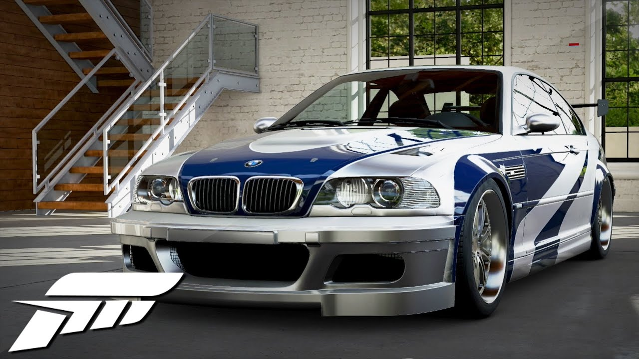 Forza 5 Bmw M3 Gtr Most Wanted Youtube