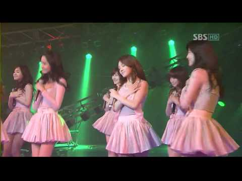 Girls Generation SNSD  SBS Ba Ba  1080p