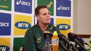 watch the moment rassie appoints siyakolisi as captain of the springboks