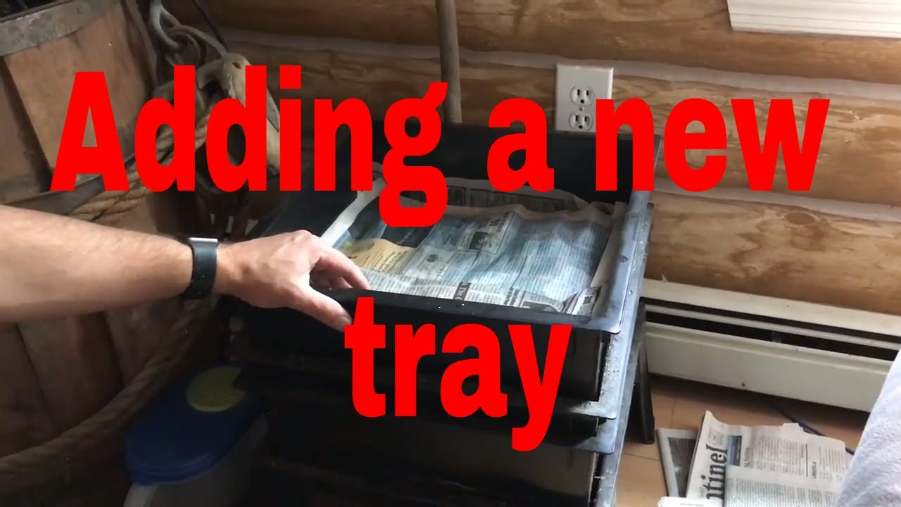 Adding A New Tray To The Worm Farm 360 With Uncle Jims Worms