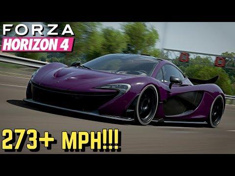 FORZA HORIZON 4 : 273+ MPH McLaren P1 Setup!! thumbnail