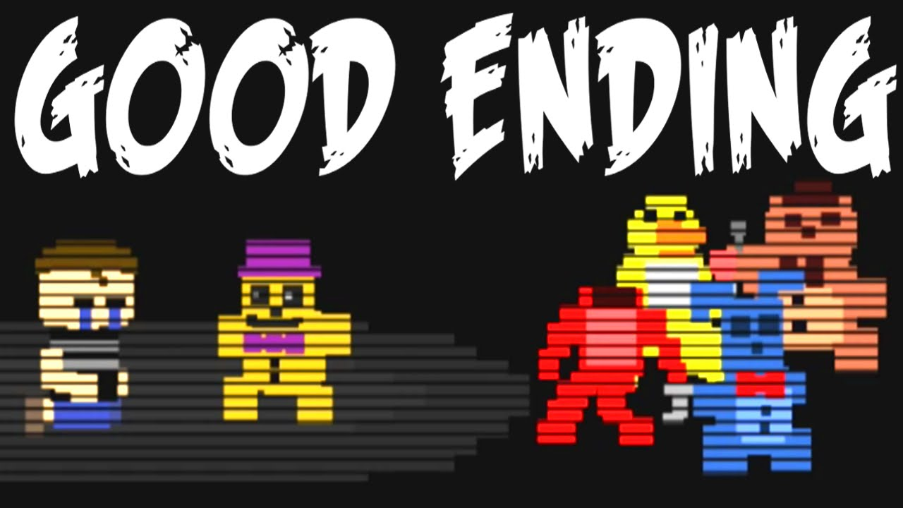 Five nights at freddy s 4 good ending minigame youtube