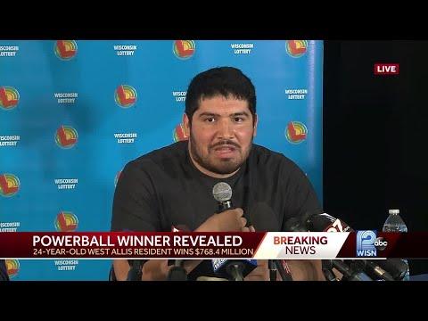 West Allis man claims $768M Powerball jackpot