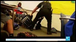 Violence d'un agent de police contre une lycéenne noire - La vidéo qui choque les États-Unis