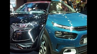 Citroen C4 Cactus vs DS 3 Crossback