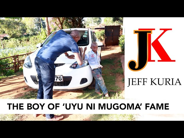 Jeff Meets Peter 'Kamugoma', The 3 year old boy