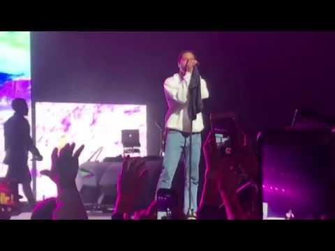"A$AP rocky performing ""L$D"" live in Portland Oregon cozy tour 2017"
