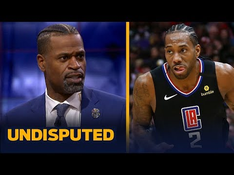 Stephen Jackson agrees that the NBA still runs through Kawhi Leonard | NBA | UNDISPUTED