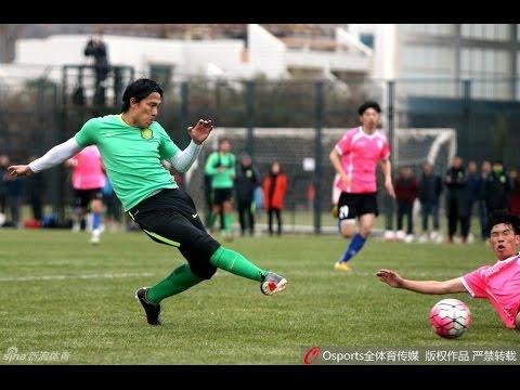 FullMatch 热身赛 北京国安乐视 2:0 河北精英 新援拉尔夫首秀表现不俗 Beijing Guoan Letv 2:0 Heibei Jinying