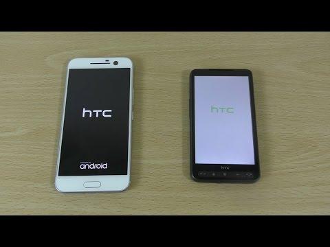 HTC 10 vs HTC HD2 - Speed Test!