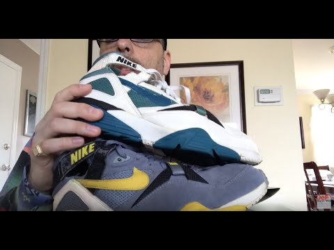 designer fashion 48b0b 5d63e Bo Knows  A look at two pairs of Original Nike Air Trainer Max 91 s with an  on feet look