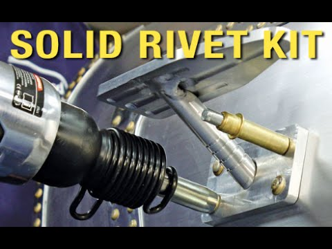 Solid Rivet Kit Aircraft Grade Rivets For Your Car
