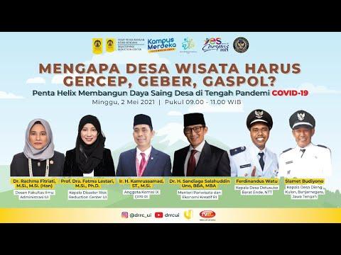 Mengapa Desa Wisata Harus Gercep, Geber, Gaspol? Penta Helix Membangun Daya Saing Indonesia