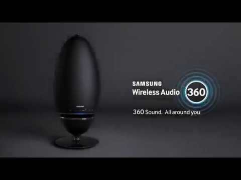 Samsung WAM7500 Radiant 360 R7 Audio Bluetooth Wireless Speaker