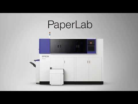 The Epson PaperLab | Recycling paper from printed documents
