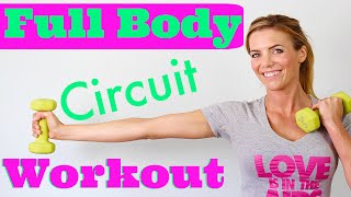Full Body Circuit Workout | Work it All