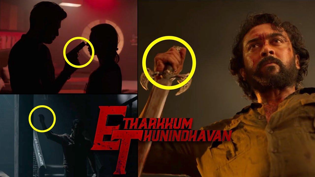 Etharkkum Thunindhavan First Look Hidden Details   #Suriya40 First Look   Suriya   Sun Pictures