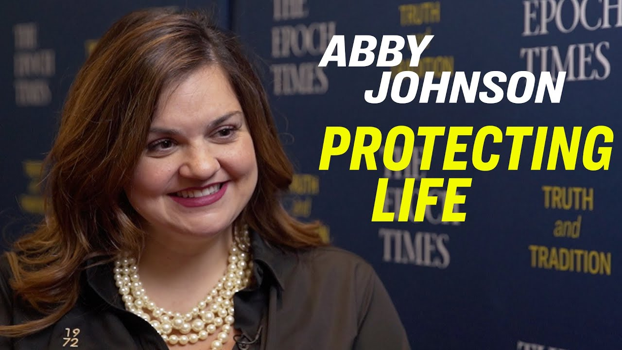 Epoch Times Anerican Thought Leaders WCS: Abby Johnson, the Inspiration for the Unplanned Movie, On