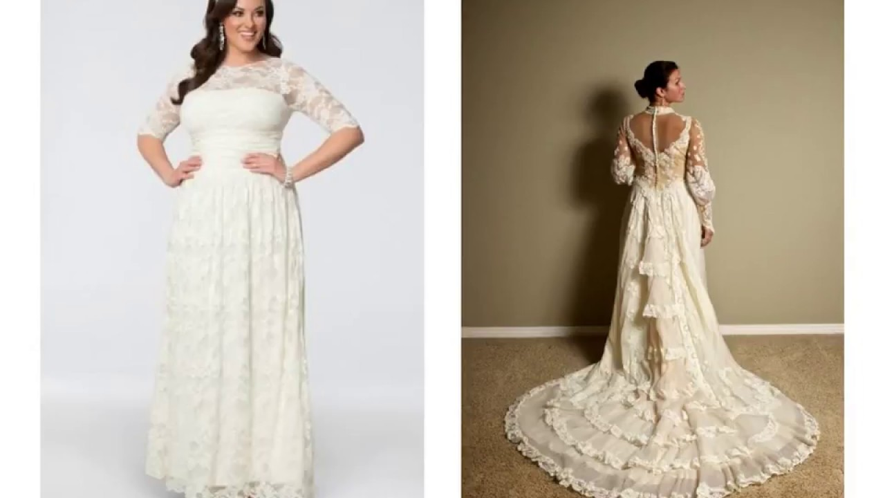 Victorian Style Wedding Dresses Plus Size