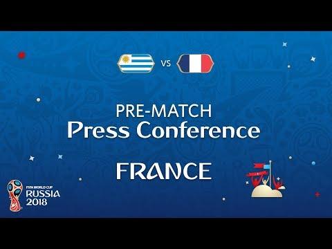 2018 FIFA World Cup Russia™ - URU vs FRA - France Pre-Match Press Conference
