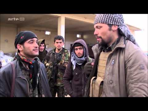 PKK Fighters in the Sinjar - with the American Fighter Jordan Matson ! - documentary