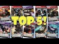 Top 5 Transformers TCG Character Cards!