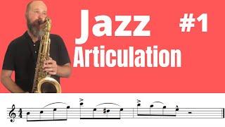 Saxophone Jazz articulation 1(Eng/Esp sub) /джазовая артикуляция  саксофоне/Basic Tongue Techniques