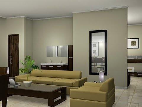 Desain Kombinasi Warna Cat Ruang Keluarga Cantik Dan Elegan
