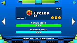 CYCLES 2 1 VER Geometry Dash 2 1 Cycles 2017 Jlexa Jlexaa