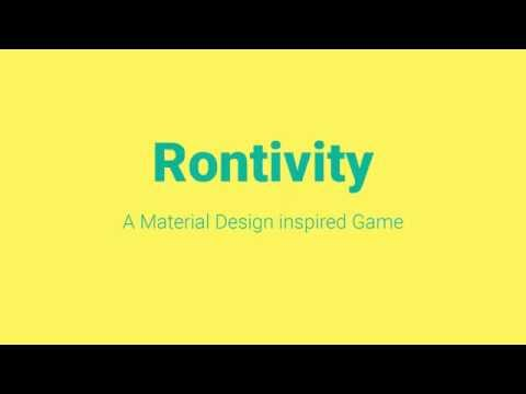 Rontivity - A game inspired by Material Design
