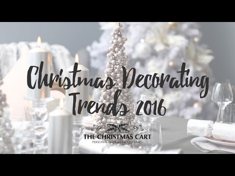 Christmas Decor Trends 2016