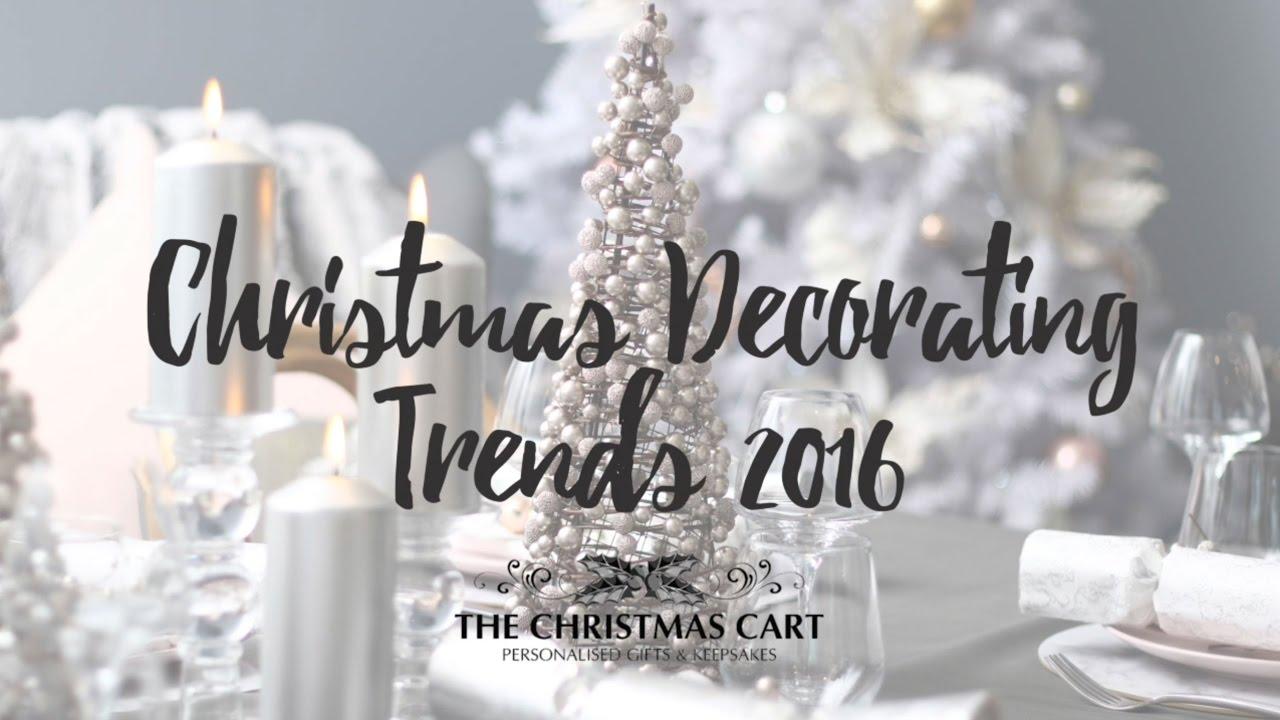 Christmas Decor Trends 2016
